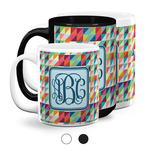 Retro Triangles Coffee Mugs (Personalized)