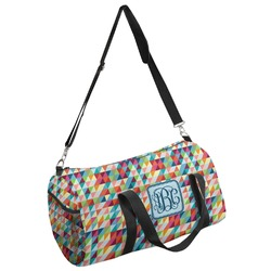 Retro Triangles Duffel Bag - Multiple Sizes (Personalized)