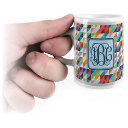 Retro Triangles Espresso Cups (Personalized)