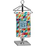 Retro Triangles Finger Tip Towel - Full Print (Personalized)