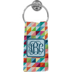 Retro Triangles Hand Towel - Full Print (Personalized)