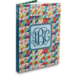 Retro Triangles Hardbound Journal (Personalized)