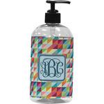 Retro Triangles Plastic Soap / Lotion Dispenser (Personalized)