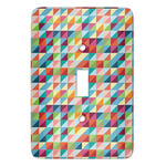 Retro Triangles Light Switch Covers (Personalized)