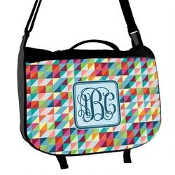 Retro Triangles Messenger Bag (Personalized)