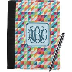 Retro Triangles Notebook Padfolio (Personalized)