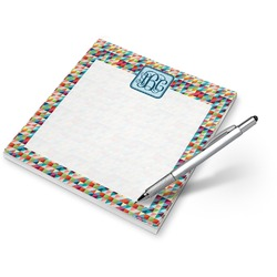 Retro Triangles Notepad (Personalized)