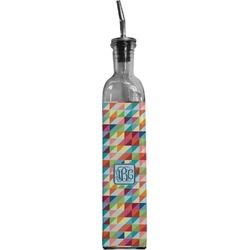 Retro Triangles Oil Dispenser Bottle (Personalized)