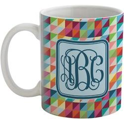 Retro Triangles Coffee Mug (Personalized)
