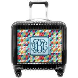 Retro Triangles Pilot / Flight Suitcase (Personalized)