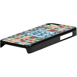 Retro Triangles Plastic iPhone 5C Phone Case (Personalized)