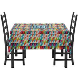 Retro Triangles Tablecloth (Personalized)