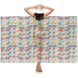 Retro Triangles Sheer Sarong (Personalized)