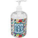 Retro Triangles Soap / Lotion Dispenser (Personalized)