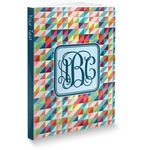 Retro Triangles Softbound Notebook (Personalized)