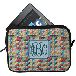 Retro Triangles Tablet Case / Sleeve (Personalized)