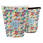 Retro Triangles Waste Basket (Personalized)