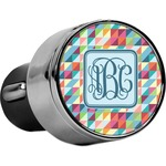 Retro Triangles USB Car Charger (Personalized)