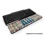 Retro Triangles Keyboard Wrist Rest (Personalized)