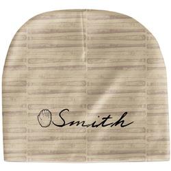 Retro Baseball Baby Hat (Beanie) (Personalized)