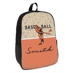 Retro Baseball Kids Backpack (Personalized)