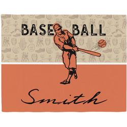 Retro Baseball Placemat (Fabric) (Personalized)