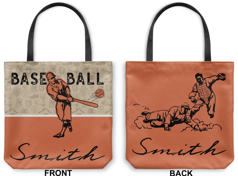 Personalized YouCustomizeIt Retro Baseball Duffel Bag