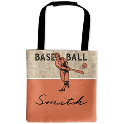 Retro Baseball Auto Back Seat Organizer Bag (Personalized)