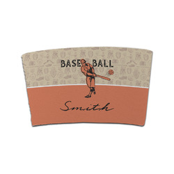 Retro Baseball Coffee Cup Sleeve (Personalized)