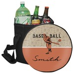 Retro Baseball Collapsible Cooler & Seat (Personalized)
