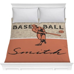 Retro Baseball Comforter (Personalized)