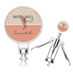 Retro Baseball Corkscrew (Personalized)