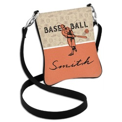 Retro Baseball Cross Body Bag - 2 Sizes (Personalized)
