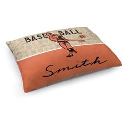Retro Baseball Dog Bed (Personalized)