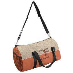 Retro Baseball Duffel Bag - Multiple Sizes (Personalized)