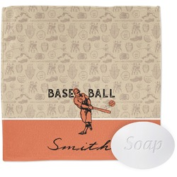 Retro Baseball Wash Cloth (Personalized)