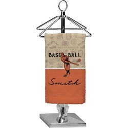Retro Baseball Finger Tip Towel - Full Print (Personalized)