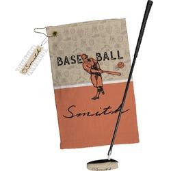 Retro Baseball Golf Towel Gift Set (Personalized)