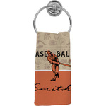 Retro Baseball Hand Towel - Full Print (Personalized)
