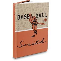 Retro Baseball Hardbound Journal (Personalized)