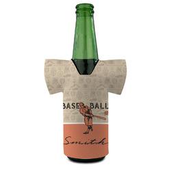 Retro Baseball Bottle Cooler (Personalized)