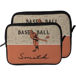 Retro Baseball Laptop Sleeve / Case (Personalized)