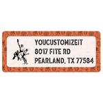 Retro Baseball Return Address Labels (Personalized)