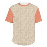 Retro Baseball Men's Crew T-Shirt (Personalized)