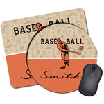 Retro Baseball Mouse Pads (Personalized)