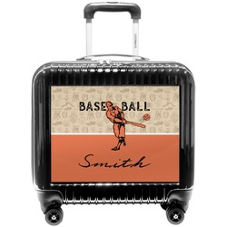 Retro Baseball Pilot / Flight Suitcase (Personalized)