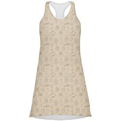 Retro Baseball Racerback Dress (Personalized)