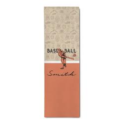 Retro Baseball Runner Rug - 3.66'x8' (Personalized)