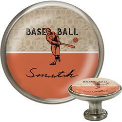 Retro Baseball Cabinet Knobs (Personalized)