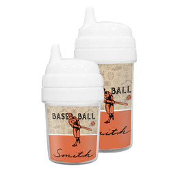 Retro Baseball Sippy Cup (Personalized)